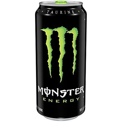 Monster Energy, Original, 16 Ounce (Pack Of 24) Free Shipping