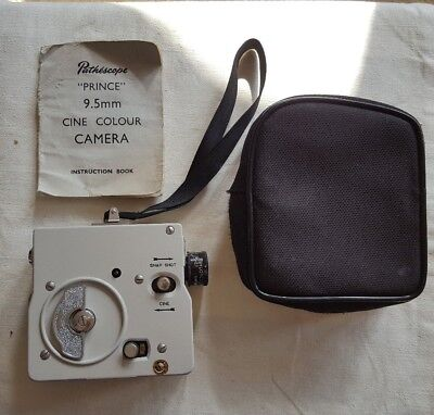 Pathéscope Prince 9.5mm cine colour camera in very good condition