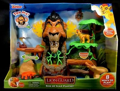 Lion Guard Rise of Scar Playset Disney Junior ••NEW•• **FREE SHIPPING**