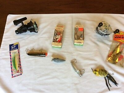 🐟Fishing Junk Drawer Lot NEW/OLD STOCK, Quantim Fishing real🎣