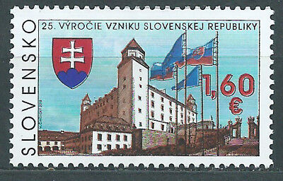 Slovakia Mail 2018 Yvert 731 Mnh 25th of the Republic