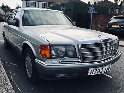 Mercedes 500 SEL - Rare Sample of a Classic Mercedes 1990 Limo - Iconic W126
