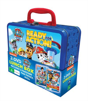 Paw Patrol | Lunchbox Pack (DVD) (Region 4) New Release
