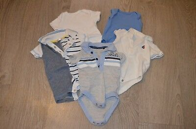Baby Clothes - Baby Boy Clothes - Polo Shirt Vests - Up To 3 Months - M144