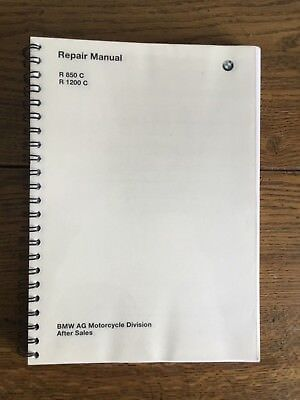 Genuine BMW Workshop/Repair Manual for R850C/R1200C New Old Stock
