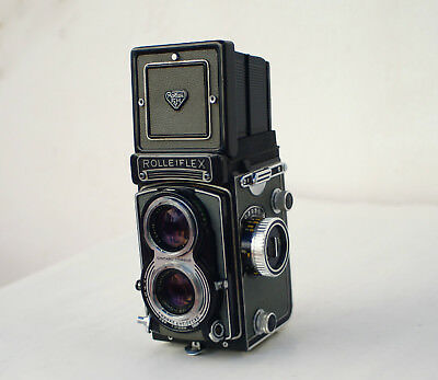 Rolleiflex Carl Zeiss 75mm 3.5 Lens Full Working Condition 6x6 Exc+++/Mint-