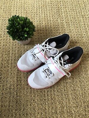 ff4f8d20e60 Reebok Crossfit Cf74 Lifter Women s Athletic Shoes Size 10 - White And Pink
