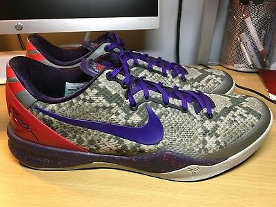 acheter pas cher 3942a 5424d RARE NIKE ZOOM Kobe VIII 8 System Mine Grey Pit Viper Size 12 NEW WITH BOX
