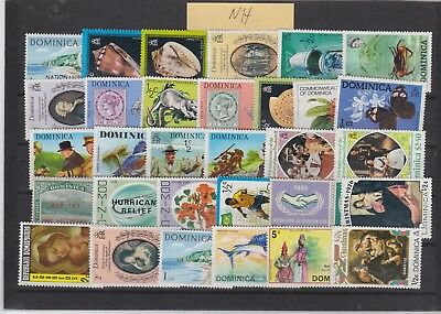 Dominica Mint Misc Never Hinged No 2