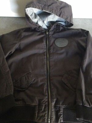 Country Road boys lined hooded utility jacket - Size 8-9