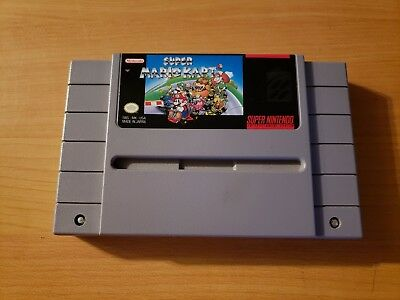 Super Mario Kart (Super Nintendo, 1992) ~ Cartridge Only, WORKS GREAT! AUTHENTIC