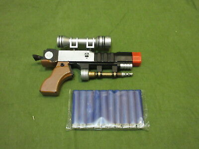 Star Wars rare Nerf genuine Naboo Phantom Menace blaster with darts