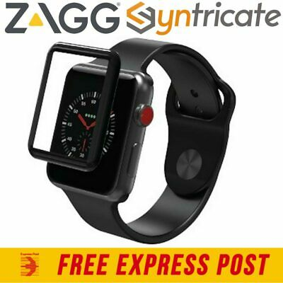 Zagg Glass Curve Elite Tempered Screen Protector For Apple Watch Series 3 (38Mm)