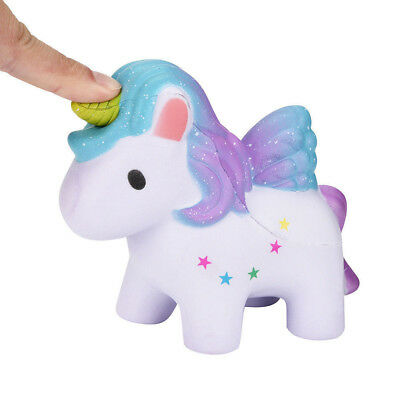 Jumbo 12cm Unicorn Horse Squishy Toy Squeeze Slow Rising Scented Toy