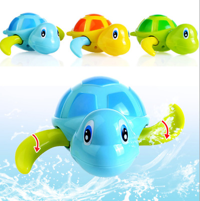 Swimming Turtle Chain Bath Toys For Baby Kids Children Bathtub Pool Gifts