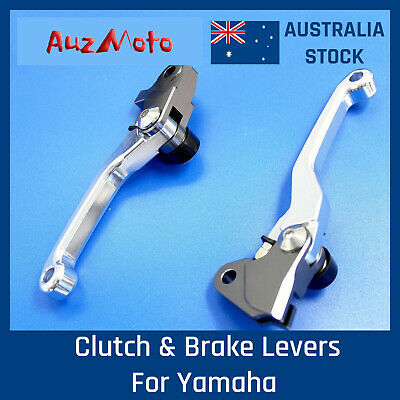 Pair Clutch Brake Lever For Yamaha YZ 125 250 2008 2009 2010 2011 2012 2013 2014