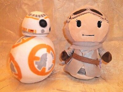 Star Wars Hallmark Itty Bittys The Force Awakens  Rey &  BB-8 Plush