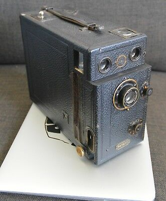 """Antique """"The Midg"""" Detective Camera-Falling Plate Patent-Great Display"""