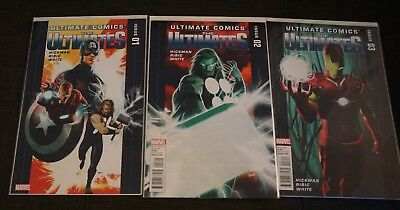Ultimate Comics The Ultimates 1-16 Marvel Comics