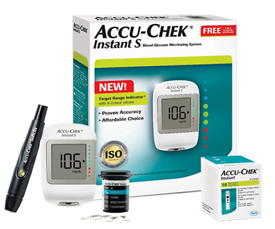 Accu-Chek Instant S Blood Glucose Monitoring System Kit