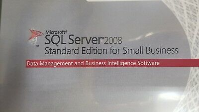 Microsoft SQL Server 2008 Standard Edition for Small Business C9C-00356