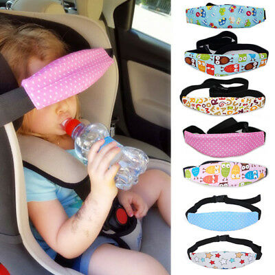 Baby Car Sleep Positioner Head Support Stroller Seat Fastening Belt Sleep Safety