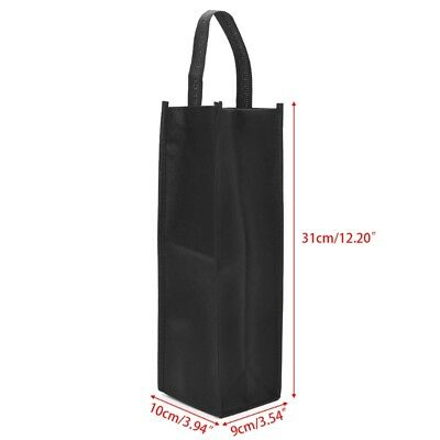 1Pc Non-woven Fabric Red Wine Bottle Bags Gift Weddings Holiday Party Washable