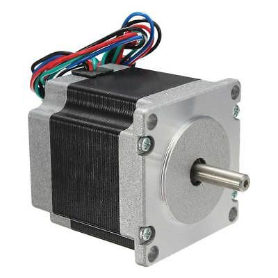 56mm 24V 2 Phase 4 Wire Nema23 Stepper Motor 1.8 Degree For 3D printer CNC NEW