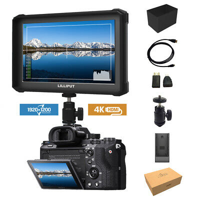 Lilliput A7s-2 7-inch 1920x1200 DSLR Mirrorless Camera Field Monitor 4K HDMI
