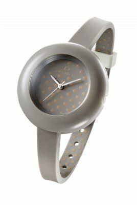 OPS! Objects Pois | Orologio Donna Grigio Puntini Silicone OPSPW-04