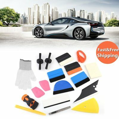 Professional Auto Car Window Tint Tools Kit Decals Wrap Application Squeegee OY