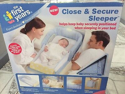 My First Year Close & Secure Co Sleeper