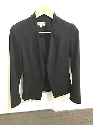 Simple Black Blazer Size 6