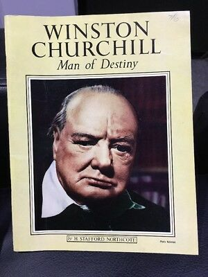 Winston Churchill Man Of Destiny By H Stafford Northcote 63 Pages - Soft Cover