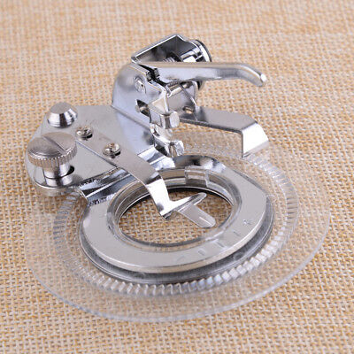 Embroidery Round Low Shank Flower Stitch Presser Foot 3700L for Brother Singer