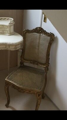 19th Century Gilt Framed Salon Chair
