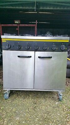 """Buffalo catering gas cooker """"BFF90NG CASTORS"""""""