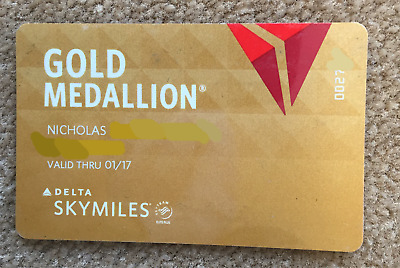 Delta Gold Medallion Status Upgrade! Includes Virgin Australia Velocity Gold!