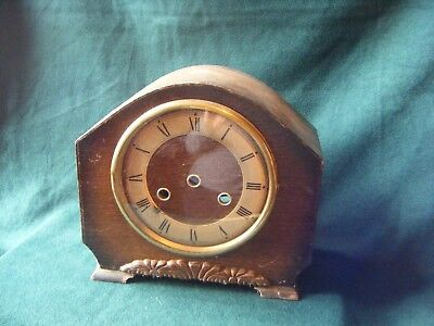 "Empty ""Bentima"" Mantel Clock Case, Spares/Repair"