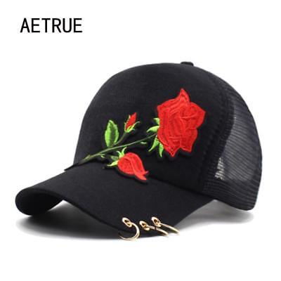 6b7d4e6d00ae7 Women Baseball Cap Girls Snapback Caps Hats For Women Fashion Flower Lady  Hat.
