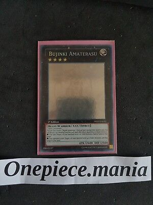 Yu-gi-oh! BUJINKI AMATERASU GOOD CONDITION UNLIMITED GHOST PRIO-EN052 1st