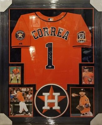 best website 1888f 76007 CARLOS CORREA HOUSTON Astros signed autographed Replica ...