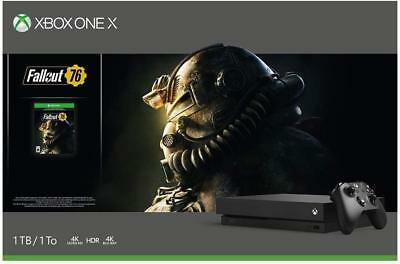 Xbox One X 1TB Fallout 76 Bundle Brand new in sealed box