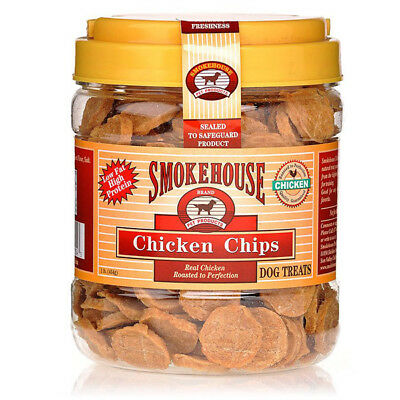 SMOKEHOUSE - Chicken Chips Treats Small - 1 Lbs. (454 g)