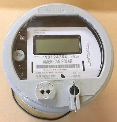 New Elster Cl200 120 To 480V Electric Watthour Meter Itron A3Rl American Solar