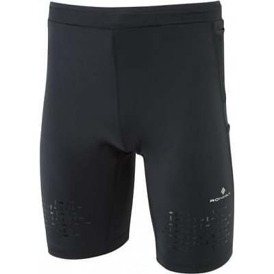 Ronhill Men's Infinity Cargo Stretch Short Running All Black Medium