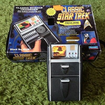 Star Trek Science Tricorder  - light + sound gebraucht, gut