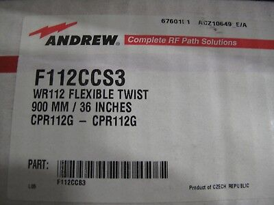 """Andrew WR112 Flexible Twist 900mm 36"""" CPR112G-CPR112G F112CCS3"""