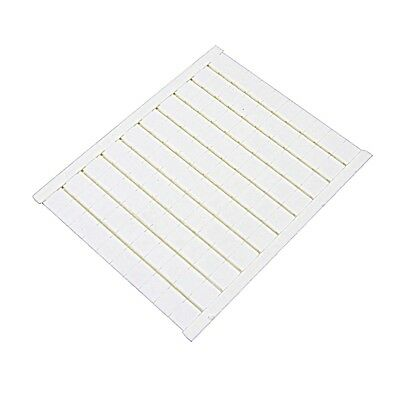 023400002, ABB, Blank Terminal Marker Cards, RC810, 100 Markers/Card (5 Pack)