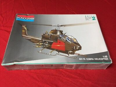 Monogram 1:48 AH-1S Cobra Helicopter